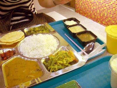 インド料理プレート