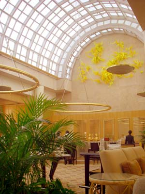 Chihuly Lounge 雰囲気