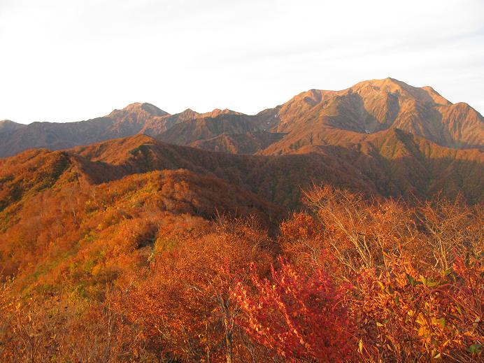 紅葉の駒ケ岳