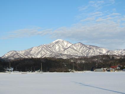 柿崎から見る米山