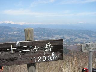 十ニケ岳山頂からの眺望