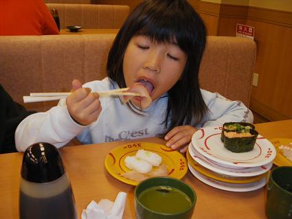 寿司食べまくり