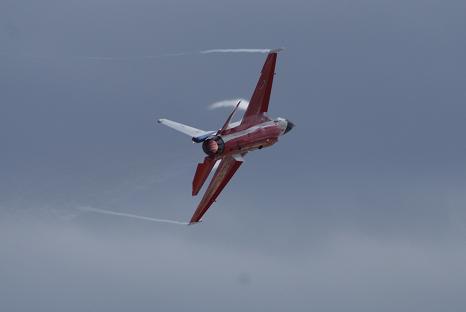 戦闘機アクロバット3