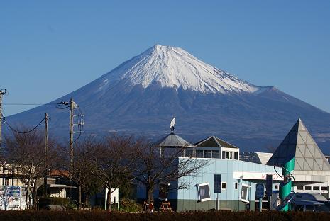2号線からの富士山