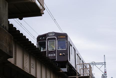 阪急電車下