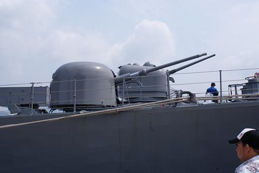 76ミリ単装連射砲