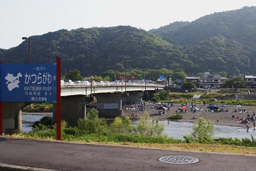桂川河川敷2