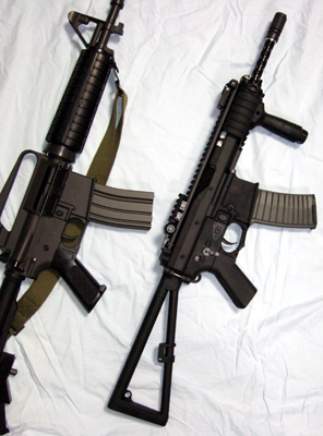 KAC PDW & Colt XM177E2