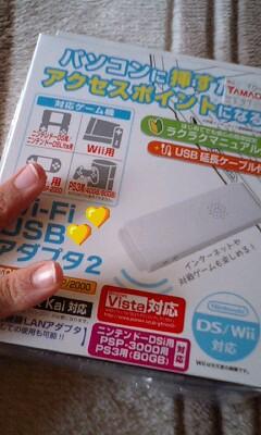 Wi-FiコネクタGET!