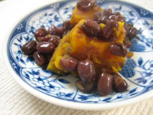 小豆とカボチャのいとこ煮