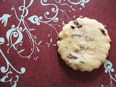 ドライフルーツのクッキー