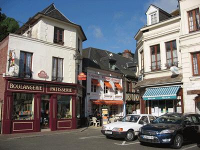 ラ・ブイユ村のお店