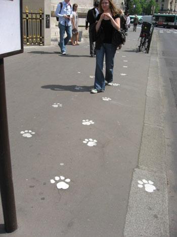 オペラ座の足跡