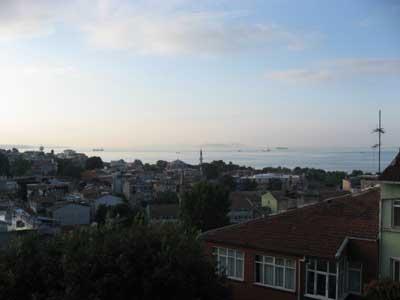 イスタンブール ホテルからの眺め