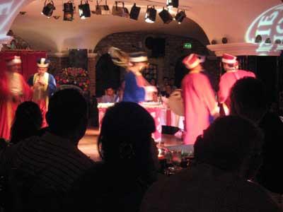 ベリーダンスのショー会場