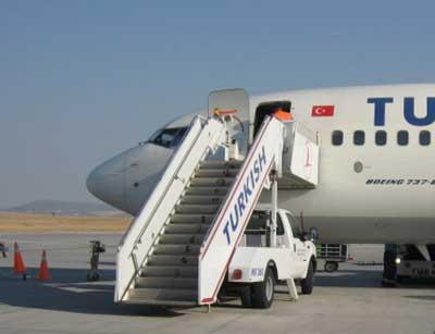 トルコ航空でデニズリへ