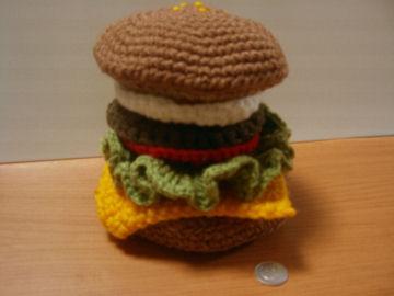 ハンバーガーのコースター