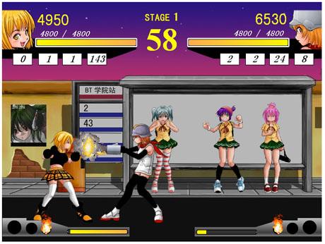 美少女格闘ゲーム Dream Club