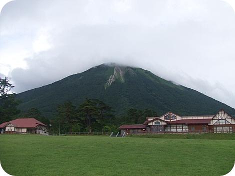 みるくの里からの大山