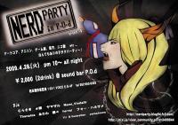 NERD PARTY in P.O.d. vol.4 チラシ