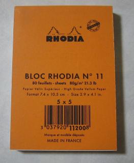 Rhodia No.11 (ロディア)