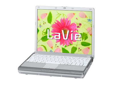 NECからノートパソコンLavie登場