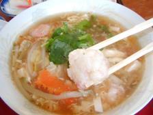 魚介野菜酸ラータン単