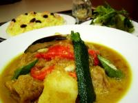 チキンと野菜のスープカレー