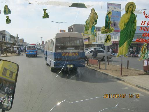 Buses, Lusaka, ZAMBIA