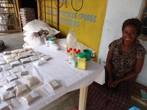 Herbal Medicine seller, Kalomo, ZAMBIA
