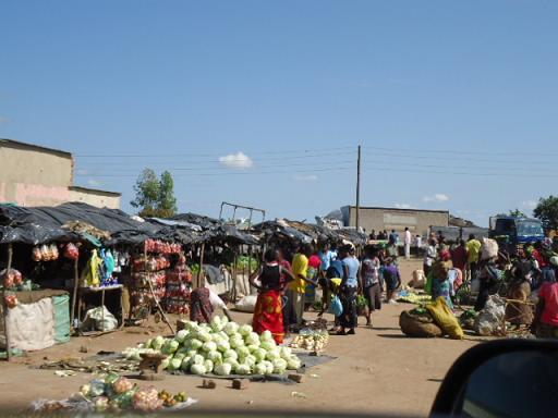 Kalomo Market 1