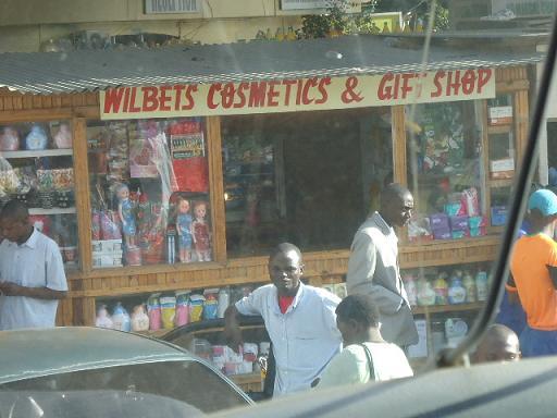 Giftshop in Intercity, Lusaka, ZAMBIA
