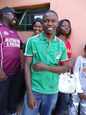 Man in Zambian Uniform 1