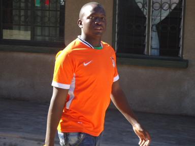 Man in Zambian Uniform 2
