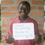 student 2, Kalomo, ZAMBIA