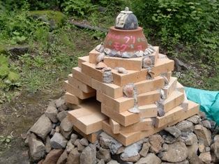 石窯(側面)