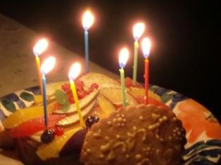 あすかちゃんケーキおめでとう(ブログ用)