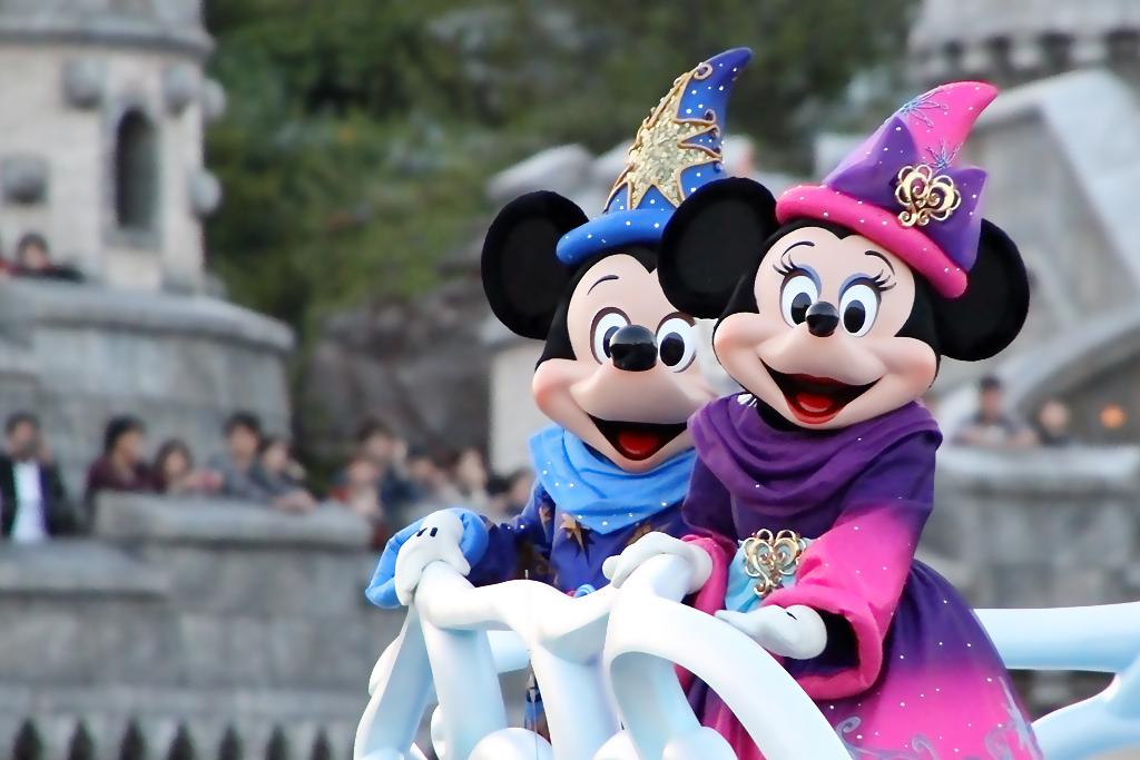 Be Magical!のミッキーとミニー