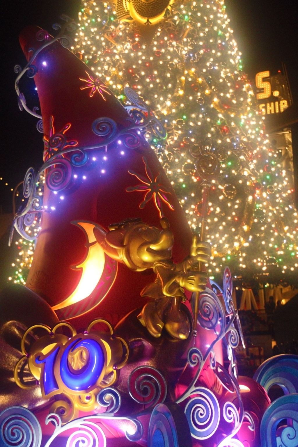 ミニーと10thとクリスマス