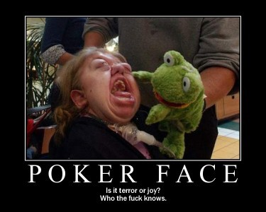 ポーカー顔