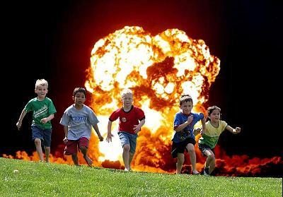 地雷から子供達を守ろう
