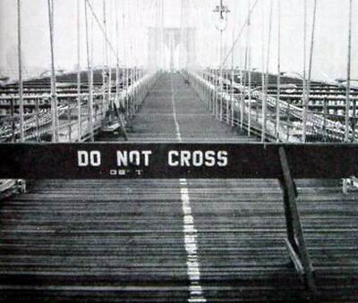ブルックリン橋封鎖