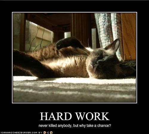 働きすぎ注意