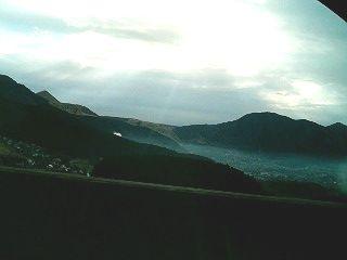朝霧の湯布院