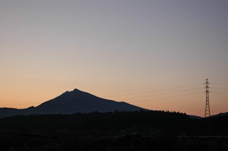 筑波山と新治線