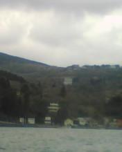 芦ノ湖から元箱根の景色