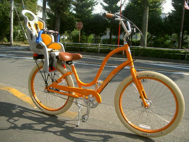 自転車の 子供 自転車 おしゃれ : ... で子供乗せ、お洒落でしょ