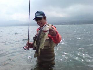 20080423山中湖岩井さん