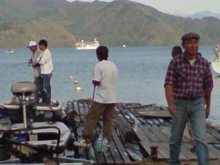 20080504 桟橋にて 風間釣法