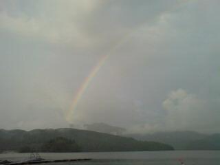 20080623 夕方の虹